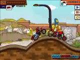 Simpsons Family Race Level 9 Game Walkthrough - How to Play Simpsons Family Race Gameplay-