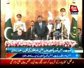 Justice Nasir-ul-Mulk takes oath as new CJP