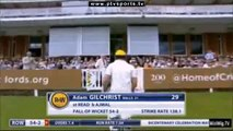 Saeed Ajmal's 4 wickets in MCC Vs The Rest of the world 5th of July 2014 Game