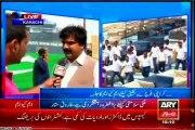 MQM Haider Abbas Rizvi, Waseem Akhter and Ashfaq Mangi media talk on MQM solidarity rally at Bagh-e-Jinnah Karachi.