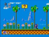 Sonic le Hérisson (Niveau 1) Sega Master System