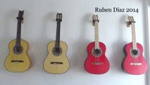 """Why Cypress Guitar is an Obsolete Concept Today...? /Archaic """"Flamenco-Blanca"""" idea is Outdated /  The Future Of Flamenco Blanca concept is Cherry & Norway Spruce Top Maple Fret board & Bridge New Generation Andalusian Guitars Endorsed by Paco de Lucia"""