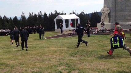 Une jeune fille fait un malaise durant la cérémonie du Mont Mouchet