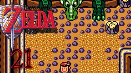 "German Let's Play: The Legend of Zelda - Link's Awakening, Part 21, ""Reise zum Reptilfelsen"""