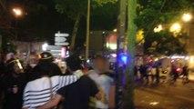 Répression et discrimination policières des supporters algériens à Lyon.