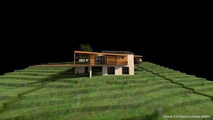 Projet d'Architecture Contemporain BBC Bio Climatique RT 2012 en Corse