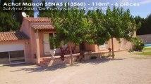 A vendre - maison - SENAS (13560) - 6 pièces - 110m²