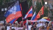 Kiev anuncia que proseguirá su operación militar hasta recuperar Lugansk y Donetsk de manos separatistas