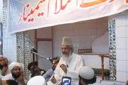 اسلام اباد؛ حصہ دوم: شہداے اسلام سمینار سے قائد اہلسنت مولانا محمد احمد لدھیانوی حطاب کر رہے ہے