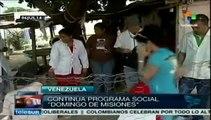 Chavismo lleva servicios públicos a poblaciones de todo el país