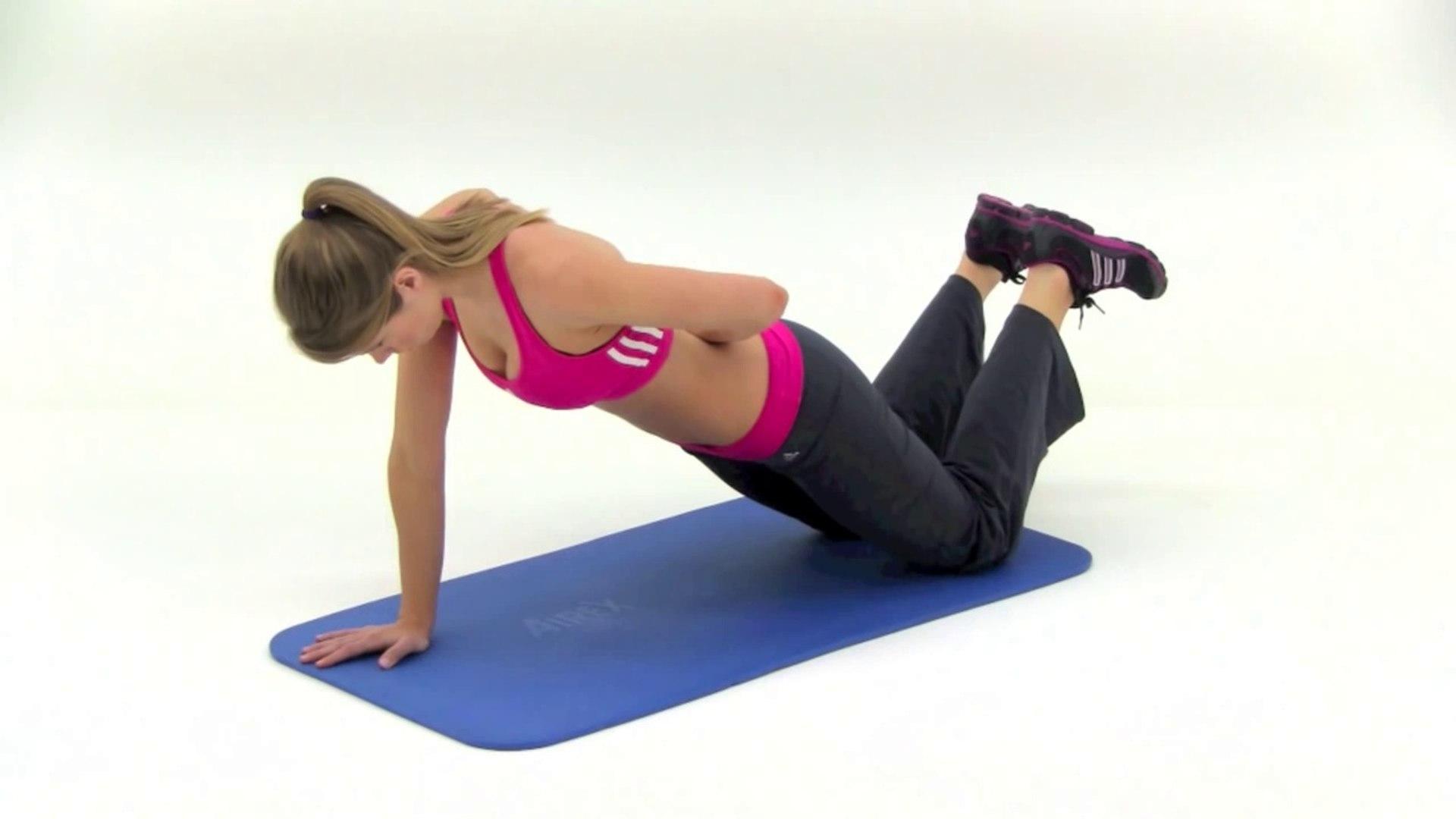 Push Up Plank (Lv 1)