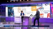 """Conférence sociale : """"Il ne faut pas prendre le boycott de deux organisations syndicales pour une rupture du dialogue social"""", assure Rebsamen"""