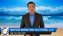 Excellent Review for Watson Marketing Solutions, LLC Norfolk         Superb         5 Star Review by Jim S.
