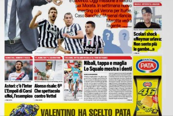 CALCIOINFO - Rassegna stampa 7-07-2014