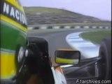 Ayrton Senna @ 1990 Jerez GP Qualifying