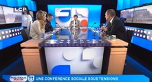 Politique Matin : Olivier Faure, député de Seine-et-Marne, vice-président du groupe SRC à l'Assemblée nationale, porte-parole du Parti socialiste et Philippe Juvin, député européen Groupe du PPE (Parti Populaire Européen)