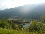Vacances d'été soleil et balades en montagne