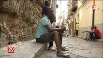 si Noir+Immigré sera Enchainé Mutilé Asphyxiés dans la Cale comme Pierre qui Stabilise Bateau Face à Misère Faim Nul Rébellion juste Prière Espoir Avenir moins Pire quittes à en Mourir Humilié Journal Information 07/07/2014 France 2