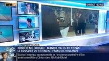"""Politique Première: Conférence sociale: """"François Hollande, le Premier ministre de Manuel Valls"""" - 08/07"""