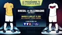 Brésil - Allemagne, Pays-Bas - Argentine... Le programme TV des demi-finales !