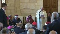 """Le Pape appelle les juifs, chrétiens et musulmans à """"travailler ensemble pour la paix"""""""