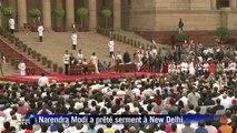 Inde: l'investiture du nouveaux Premier ministre Narendra Modi