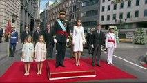 Espagne: Felipe VI devient capitaine des armées et passe en revue les troupes
