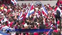 Coupe du Monde 2014 : Le Costa Rica en liesse