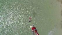 Seb Garat - No Foot Board Flip - Kitesurf