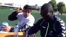 Guillaume Crepain et Ibrahima Sall, joueurs du Tremblay en France Handball en LNH, vous invitent à venir sur le Sandball Tour 2014!