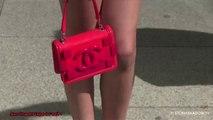 Exclu Vidéo : Zahia ultra slim dans une petite robe rouge !