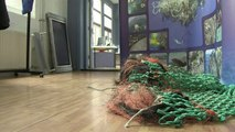 Dutch teen designs giant 'plastic trap' to clean world's oceans