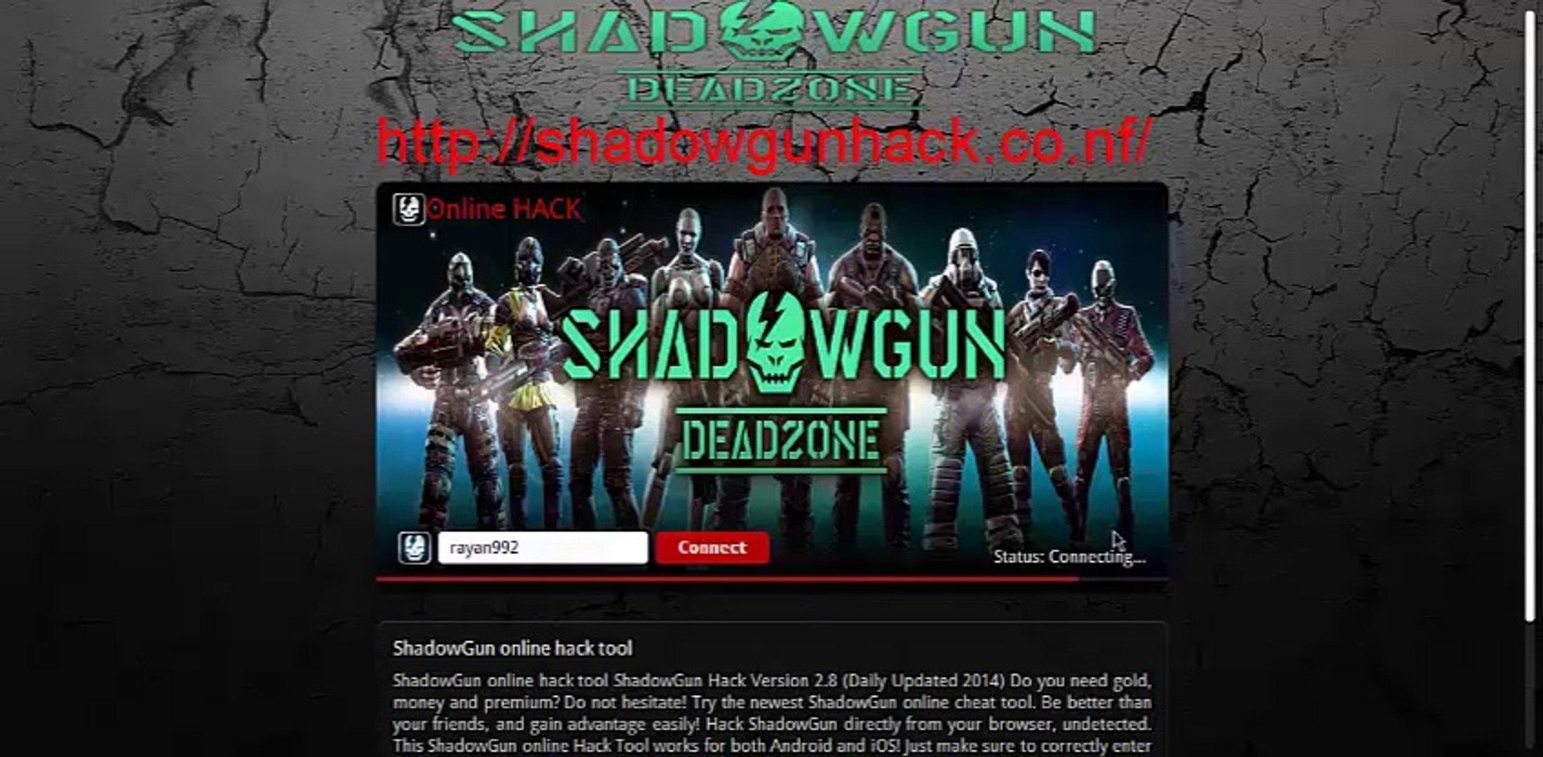 SHADOWGUN DeadZone Hack – Gold, Cash Cheats iOS Android 2014