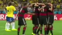 Gol Sami Khedira Brasil 0-5 Alemania - Mundial 2014 (Semifinal)
