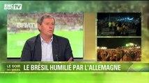 """Football / Larqué : """"Le Brésil tourne le dos à son football"""" 08/07"""