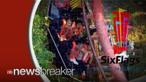 Six Flags Ride Injures Passengers After Coaster Derails