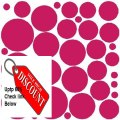 Best Price 34 BLUSH POLKA DOTS..WALL STICKERS DECALS ART DECOR Review