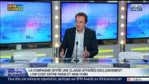 """""""La Compagnie: une nouvelle compagnie aérienne privée typiquement française"""", Frantz Yvelin, dans GMB – 09/07"""