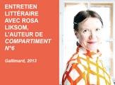 Comédie du Livre 2014 - Entretien littéraire avec Rosa Liksom
