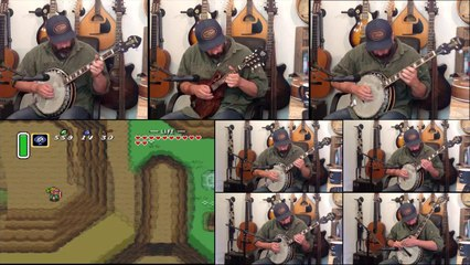 Zelda, A Link to the Past - Darkworld Theme Cover