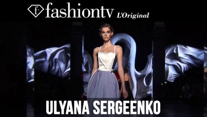 Ulyana Sergeenko Haute Couture Fall/Winter 2014-15 | Paris Couture Fashion Week | FashionTV