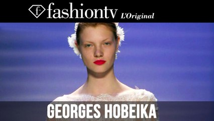 Georges Hobeika Haute Couture Fall/Winter 2014-15 FULL SHOW | Paris Couture Fashion Week | FashionTV