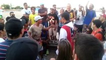 Battle de rap entre Brésiliens