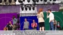 Francofolies: les répétitions d'Elodie Frégé, Nolwenn Leroy et Renan Luce