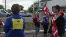 Cela TV Le JT - Les employés de Carrefour bloquent le parking