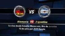Ver partido Alemania vs Argentina -- Mundial Brasil 2014