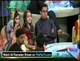 Pakistan Ramzan With Amir Liaquat By Express Entertainment - 12th July 2014 (Aftar) - part 1