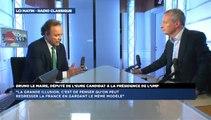 Bruno Le Maire, invité de Guillaume Durand avec LCI