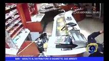 Bari | Assalto al distributore di sigarette, due arresti