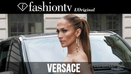 Jennifer Lopez at Atelier Versace during Paris Couture Fashion Week Fall/Winter 2014-15 | FashionTV